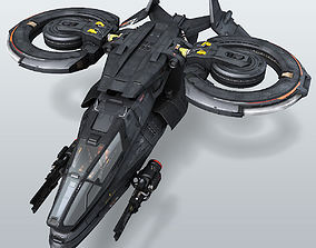 SF Stealth Fighter 3D model