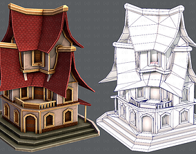 3D model game-ready House Cartoon V08
