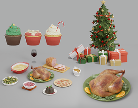 Christmas Pack 01 3D model