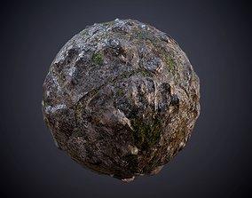3D Ground Terrain Dirty Stone Muddy Seamless PBR Texture