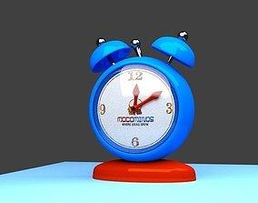 3D Blender Animatec Clock