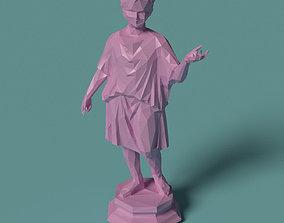 Polygonal Statue Camillus printable