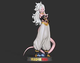 Android 21 - Dragon Ball Fanart 3D print model