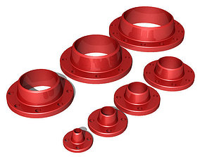 3D Welding Neck Flanges