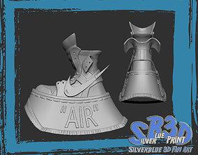 Nike Air Jordan 1 off white Two 3D print model 1