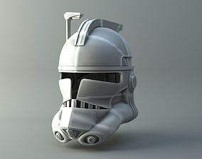 3D print model Clonetrooper helmet - Star Wars universe