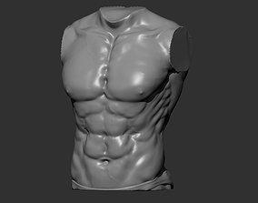 3D printable model Man Torso