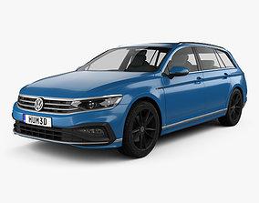 3D Volkswagen Passat variant R-line 2019