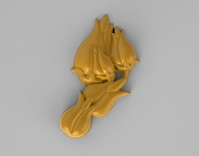 3D printable model LALE tulip four