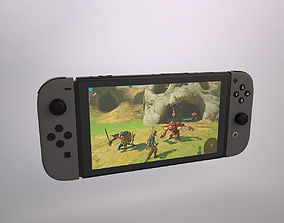 switch Nintendo Switch 3D model low-poly