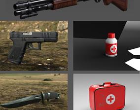 Survival Kit 3D asset