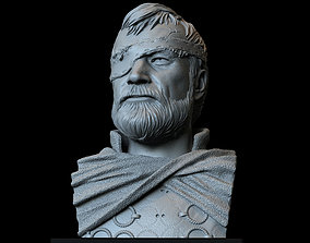 3D print model Beric Dondarrion from Game of thrones