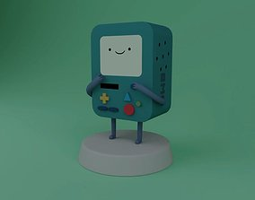 BMO adventure time 3D model animated
