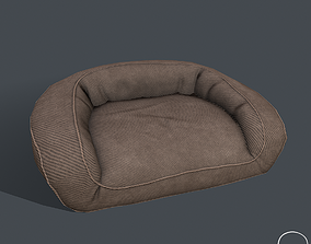 3D asset Pbr Dog Bed
