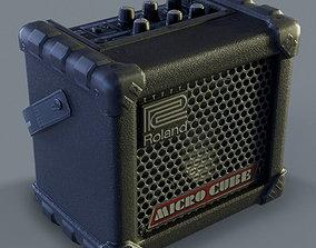 3D model Roland MicroCube Guitar Amplifier