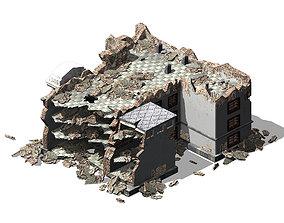 3D model Future World - Ruins 04