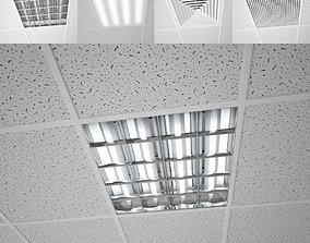 Modular ceiling 3D