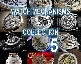 3D model Watch mechanisms coll 5