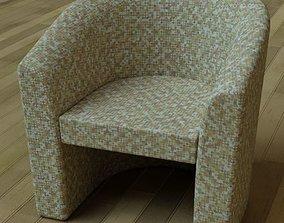 3D Tub Chair