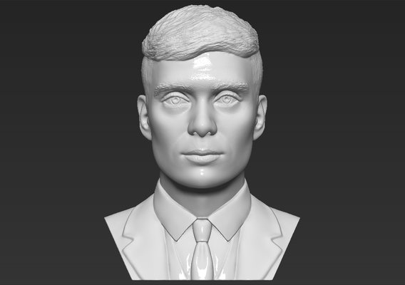 Tommy Shelby Peaky Blinders bust for 3D printing