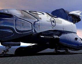 USS Calipso Shuttle 3D