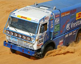 Kamaz master 4911 racing truck printables 3D