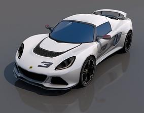 lotus exige roadster 3D model