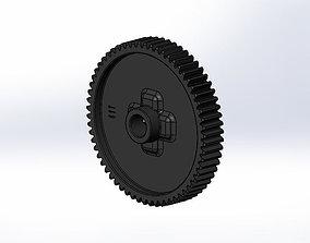 Tamiya TT-01 E Spur Gear 61T 3D print model