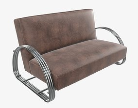 3D Loveseat sofa