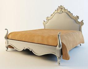attic 3D model Classic Bed