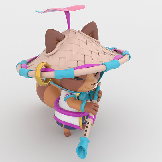 Spirit Blossom Teemo - League of Legends