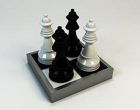 3D Model Queen