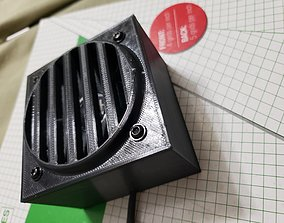 Speaker box and cover 3D print model