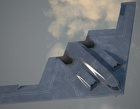 B2 Spirit Bomber 3D