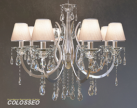 3D Chandelier crystal COLOSSEO 80314 8w
