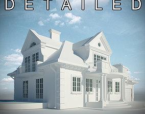 LowPoly Residence House 3D model