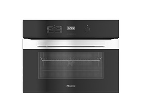 3D model Built-in oven H2840B by Miele