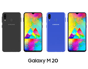 Samsung Galaxy M20 3D model