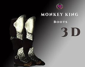 DTS - Monkey King - Boots 3D asset