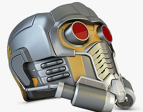 Star Lord Helmet 3D