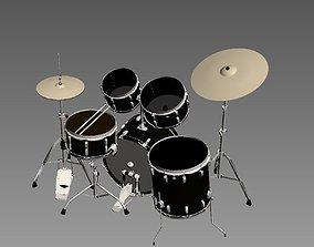3D drummer music