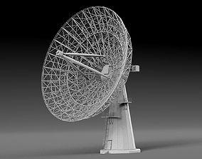 3D model Radio Telescope
