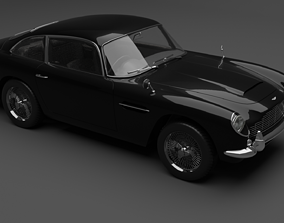 volante 3D model Aston Martin db5