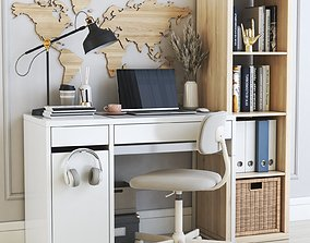 3D Office workplace 23