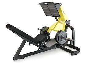 3D Technogym - Plate Loaded - Leg Press