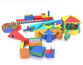 Soft childrens modules 3D model