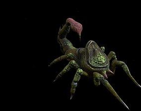 3D asset scorpio mase