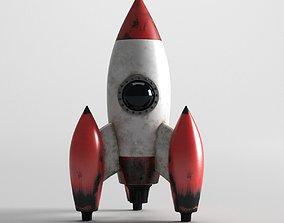 3D model Rocket Toy