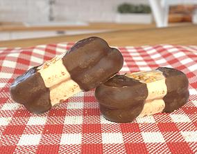 3D asset Bokkenpoot Cookie Photoscan