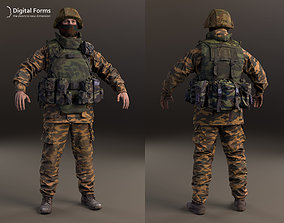 Russian soldier RAW 3d scan data
